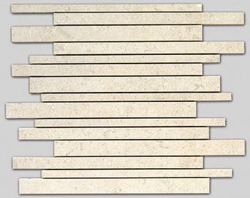 Apavisa Limestone Antique marfil lappato mosaico sin fin 30x30