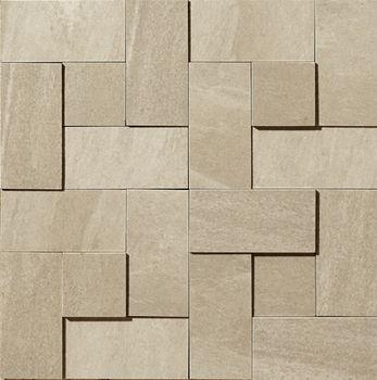 Apavisa Materia beige Natural Mosaico brick 30x30