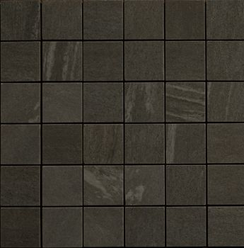 Apavisa Materia Black Natural Mosaico 5x5 30x30