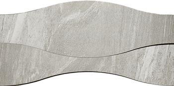 Apavisa Materia Grey Natural Ramp Onda 18x90