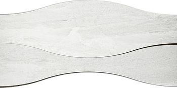 Apavisa Materia White Natural Ramp Onda 18x90