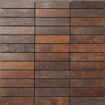 Apavisa Metal policromatico lappato mosaico 2.5x10 30x30