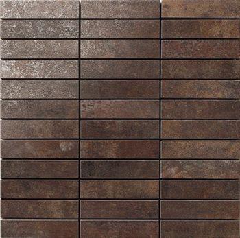 Apavisa Metal titanium lappato mosaico 2.5x10 30x30