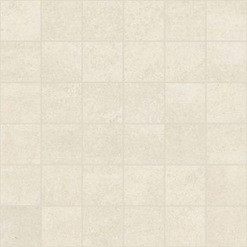 Apavisa Microcement white lappato mosaico 5x5 (30x30)