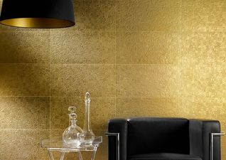 Apavisa Nanoeclectic Gold decor 30x60