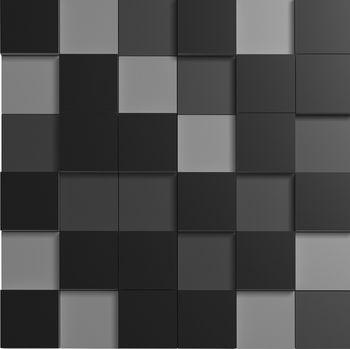 Apavisa Nanofantasy black mosaic 5x5 30x30