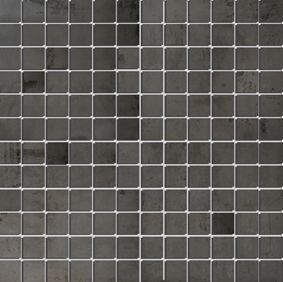 Apavisa Nanoregeneration black natural mosaico 2.5x2.5 30x30