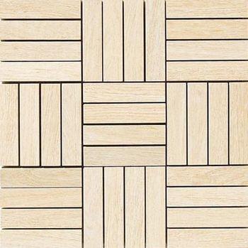 Apavisa Oak beige natural mosaico hybrid 30x30