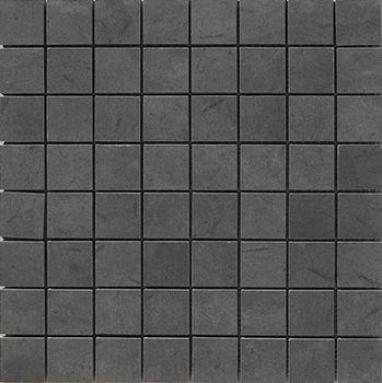 Apavisa Otta antracita lappato mosaico 3.5x3.5 30x30