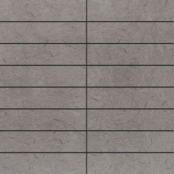 Apavisa Otta gris lappato mosaico 3.5x15 30x30