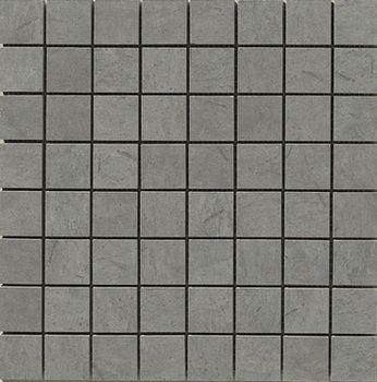 Apavisa Otta gris lappato mosaico 3.5x3.5 30x30