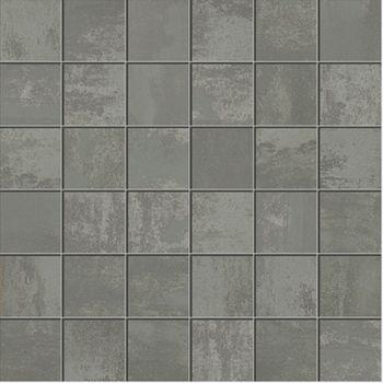 Apavisa Patina black lappato mosaico 5x5 30x30