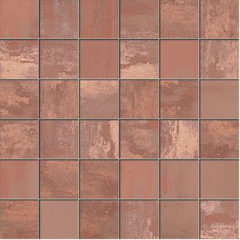 Apavisa Patina copper lappato mosaico 5x5 30x30