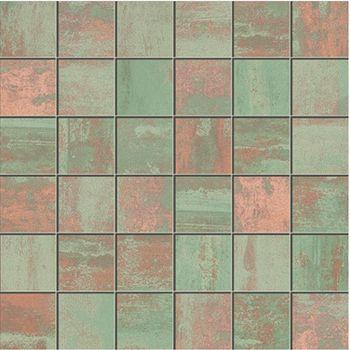 Apavisa Patina green lappato mosaico 5x5 30x30