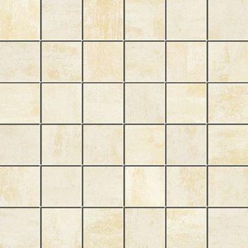 Apavisa Patina white lappato mosaico 5x5 30x30
