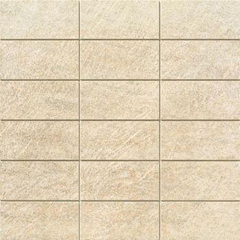 Apavisa Quartzstone Deco beige estructurado preincision 5x10 30x30