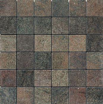 Apavisa Quartzstone Deco grafito lappato mosaico 5x5 30x30