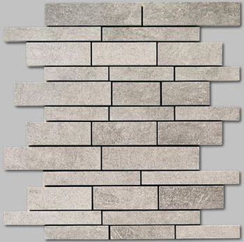 Apavisa Quartzstone Deco gris estructurado mosaico sin fin 30x30