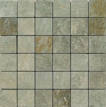 Apavisa Quartzstone Deco verde lappato mosaico 5x5 30x30