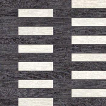 Apavisa Rovere black decape mosaico link 30x30