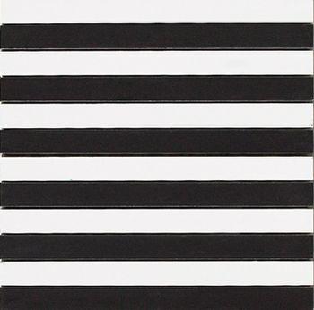 Apavisa Spectrum black pulido mosaico 2,5x30 30x30