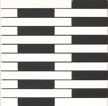 Apavisa Spectrum white satinado mosaico link 30x30