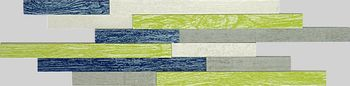 Apavisa Vintage green natural mosaico brick 15x45