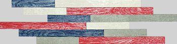 Apavisa Vintage red natural mosaico brick 15x45