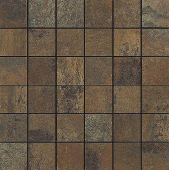Apavisa Xtreme copper lappato mosaico 5x5
