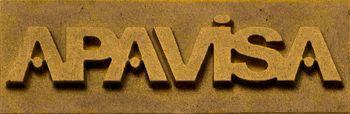 Apavisa Logo brand apavisa gold 5x15 мм