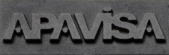 Apavisa Logo brand apavisa grey 5x15 мм
