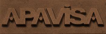 Apavisa Logo brand apavisa bronze 5x15 мм