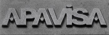 Apavisa Logo brand apavisa silver 5x15 мм
