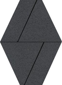 Apavisa Nanoterratec Black Lappato Diamond Decor