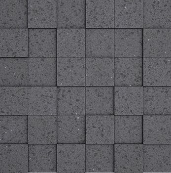 Apavisa Nanoterratec Black Natural Mosaico 5x5