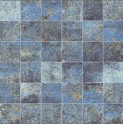 Alchemy 7.0 Blue Natural Mosaico 5x5 30x30