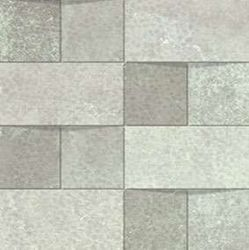 Alchemy 7.0 White Hammered Mosaico Brick 30x30
