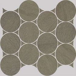 Nanoshiba 7.0 Brown Natural Mosaico Circle 30.07x34.84