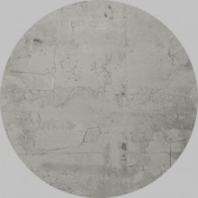 Apavisa Circle moon regeneration grey natural 25x25