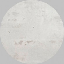 Apavisa Circle moon regeneration white natural 25x25