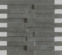 Apavisa Evolution antracita striato mosaico brick 30x28