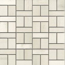 Apavisa Metal 2.0 White Mosaico Mix 30x30