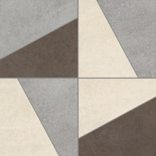 Apavisa Microcement light lappato mosaico poly 30x30