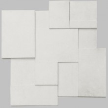 Apavisa Regeneration white natural mosaico brick 30x30