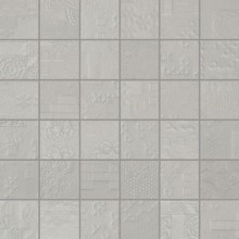 Apavisa Rendering grey natural mosaico decor 5x5 30x30