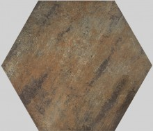 Apavisa Xtreme copper lappato hexagonal