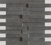 Apavisa Evolution black striato mosaico brick 29.75x28