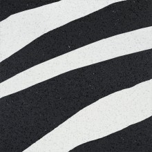Apavisa Terratec Black Lappato Zebra Decor 60x60
