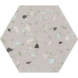 South grey natural hexagon 29x25