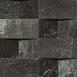 Alchemy 7.0 Black Hammered Mosaico Brick 30x30